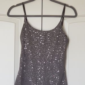 The Limited Sequin dress cami